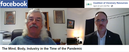Santosh Krinsky - the Time of the Pandemic