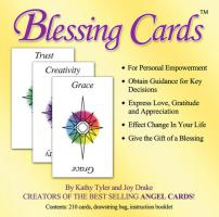 BLESSING CARDS: Communicate Your Love, Gratitude And Caring (210 cards; comes with organdy drawstrin