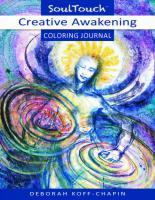 CREATIVE AWAKENING: Soul Touch Coloring Journal (O)