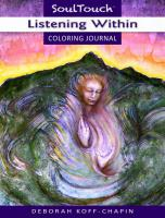 LISTENING WITHIN: Soul Touch Coloring Journal (O)