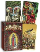 SANTA MUERTE TAROT: Book Of The Dead (22 Major Arcana cards, 56 Minor Arcana cards & companion bookl