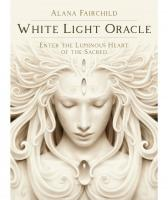 WHITE LIGHT ORACLE: Enter The Luminous Heart of the Sacred (44 cards/guidebook, boxed)
