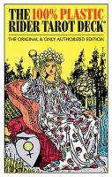 100% PLASTIC RIDER-WAITE TAROT DECK: The Original & Only Authorized Edition (78-card deck & 36-page
