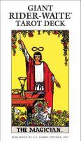 GIANT RIDER-WAITE TAROT DECK (78 cards; 4