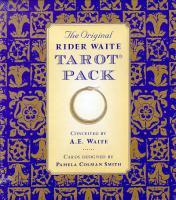ORIGINAL RIDER-WAITE TAROT PACK (deck; Celtic Cross divinatory chart; KEY TO THE TAROT)